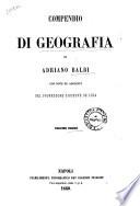 Compendio di geografia di Adriano Balbi