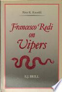Francesco Redi on Vipers