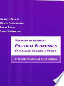 Workbook to Accompany Political Economics   Explaining Economic Policy by Torsten Persson and Guido Tabellini