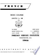 French Basic Course Units 1 24