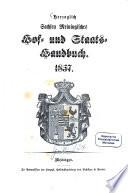 Herzoglich-Sachsen-Meiningisches Hof- und Staats-Handbuch