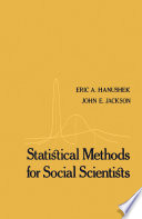 Statistical Methods for Social Scientists
