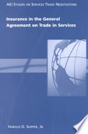 Insurance in the General Agreement on Trade in Services