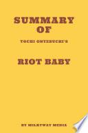 Summary of Tochi Onyebuchi   s Riot Baby Book PDF