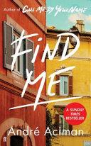 Find Me Book PDF