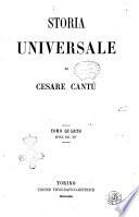 Storia universale di Cesare Cantù