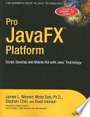 Pro Javafx Platform