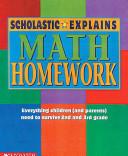 Scholastic Explains Math Homework