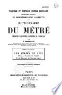 Dictionnaire du m  tr    terrasse  ma  onnerie  marbrerie et carrelage