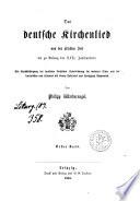 Das deutsche Kirchenlied