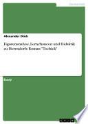 Figurenanalyse  Lernchancen und Didaktik zu Herrndorfs Roman  Tschick