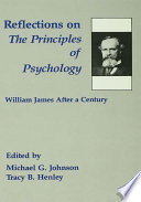 Reflections On The Principles Of Psychology