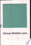 African Wildlife Laws
