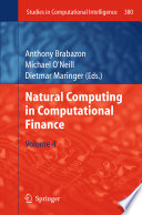 Natural Computing in Computational Finance