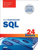SQL in 24 Hours  Sams Teach Yourself