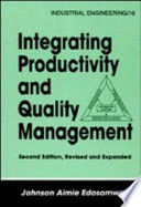 Integrating Productivity and Quality Management  Second Edition