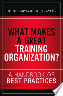 What Makes a Great Training Organization