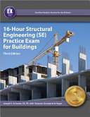 16 Hour Structural Engineering  Se  Practice Exam for Buildings