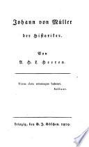 Johann von M  ller der Historiker