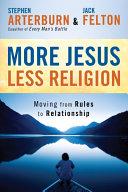 download ebook more jesus, less religion pdf epub