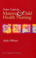 Pocket Guide for Maternal   Child Health Nursing