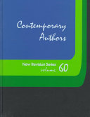 Contemporary Authors New Revision Series On Writers Contemporary Authors? New Revision Series