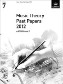 Music Theory Past Papers 2012  ABRSM Grade 7