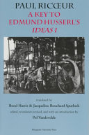 A Key to Husserl's Ideas I