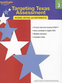Targeting Texas Assessment  Reading  Writing  and Mathematics  Grade 3