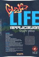 Guys Life Application Study Bible NLT