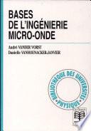 Bases de l'ingénierie micro-onde