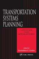 Transportation Systems Planning