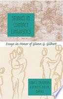 Studies in Contact Linguistics