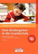 Vom Kindergarten in die Grundschule