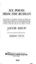 six poems from the russian
