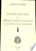 Estudios ofrecidos a Emilio Alarcos Llorach
