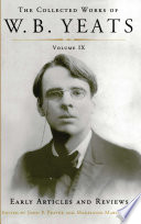 The Collected Works of W B  Yeats Volume IX  Early Art
