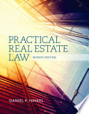 Practical Real Estate Law Free download PDF and Read online