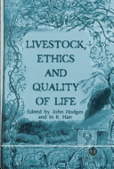 Livestock  Ethics  and Quality of Life