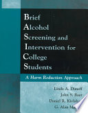 Ebook Brief Alcohol Screening and Intervention for College Students (BASICS) Epub Linda A. Dimeff Apps Read Mobile
