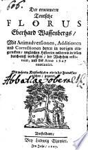 Der erneuerte teutsche Florus