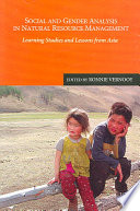 Social and Gender Analysis in Natural Resource Development