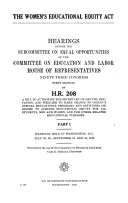 The Women S Educational Equity Act