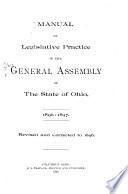 Legislative Manual Of The State Of Ohio