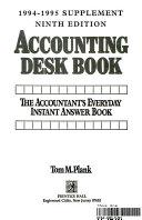 Accounting Desk Book Ninth Edition