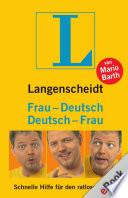 Langenscheidt Frau Deutsch Deutsch Frau