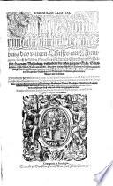 Chronicon Alsatiae. Edelsasser Cronick unnd außfürliche beschreibung des untern Elsasses am Rheinstrom ... Durch Bernhart Hertzogen (etc.)