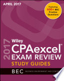 Wiley CPAexcel Exam Review April 2017 Study Guide