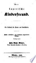 Der bayerische Kinderfreund