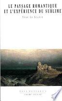 illustration Le paysage romantique et l'expérience du sublime